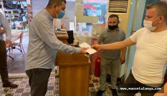 MHP'den esnafa ziyaret
