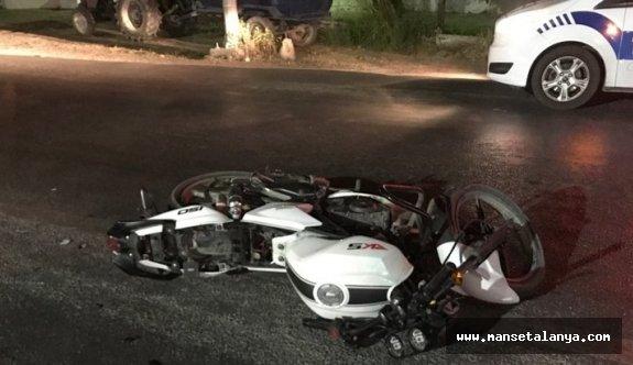 Alanya'da Rus turist kaza kurbanı!