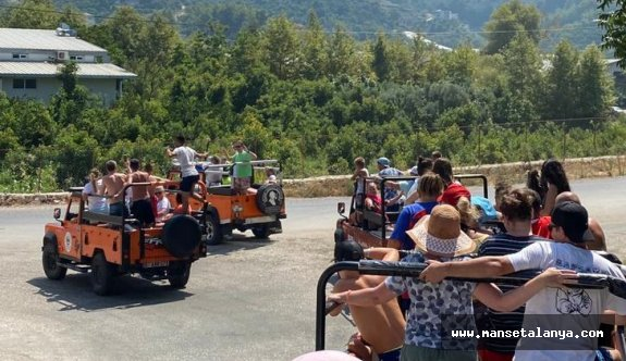Alanya'da safari kazası: 1 turist öldü