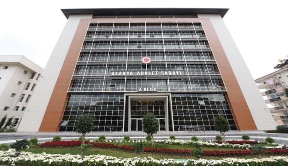 Alanya'da yeni mahkemeler yarın başlıyor