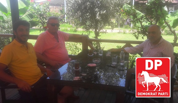 Demokrat Partiden Azakoğlu'na ziyaret