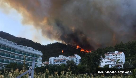 Şimdide Marmaris yanıyor!