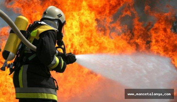 4 yıldızlı otelde korkutan yangın