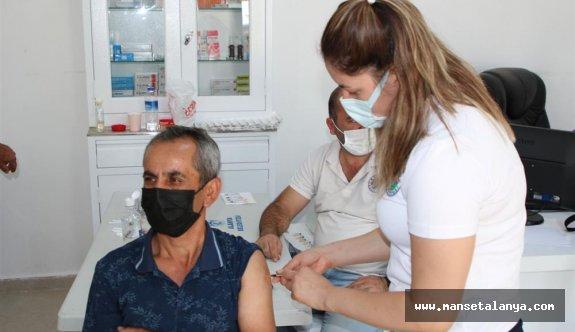 Alanya yaylalarında aşı seferberliği