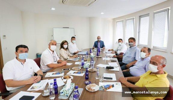 Bakan Çavuşoğlu'nun dün geldiği Alanya'da AHEP'i ziyaret etti!