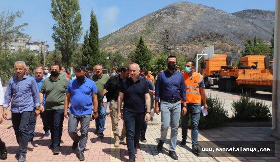 Bakan Karaismailoğlu, Güzelbağ'da incelemelerde bulundu