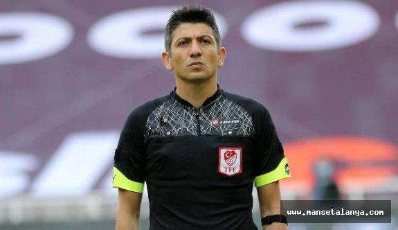 İşte Başakşehir-Alanyaspor maçının hakemi