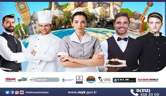 Turizm çalışanlarına MYK belgesi sınavları için hibe desteği
