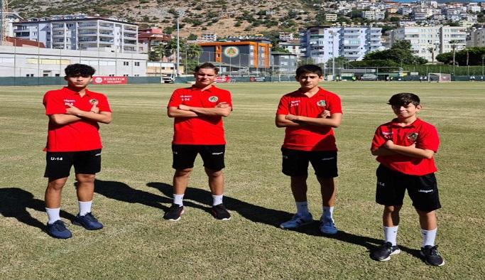 4 futbolcu milli takımda seçmelerinde