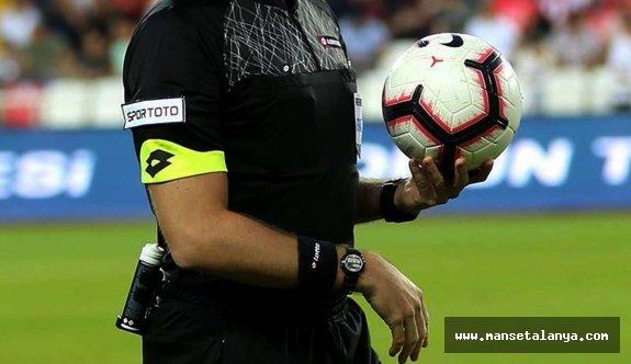Alanyaspor-Kasımpaşa maçının hakemi açıklandı