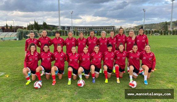 Kadın A milli takımı Alanya'da Portekiz ile karşılaşacak
