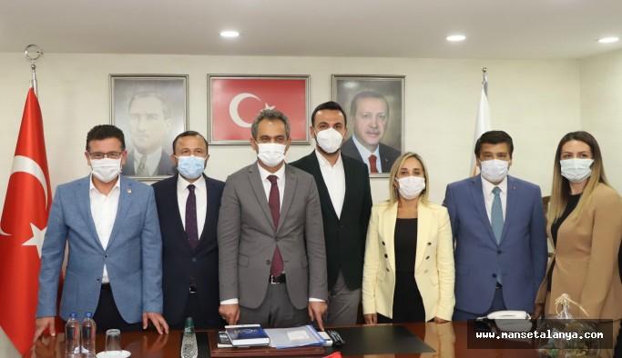 Mahmutlar ve Demirtaş'a okul müjdesi!