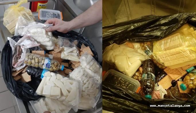 Rus turistin çantasından çıkanlar