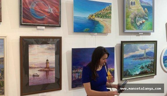 Ukrayna da ressamlar Alanyayı resmetti!