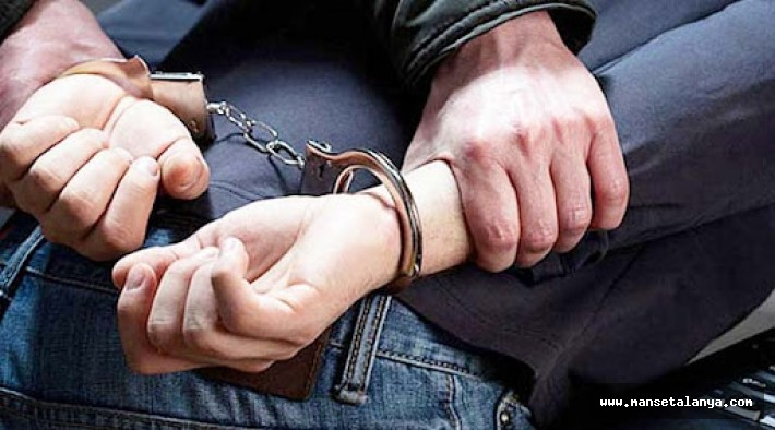 Alanya'da 'kasten öldürme' suçundan aranan şüpheli yakalandı