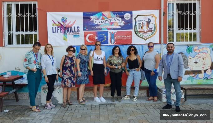 Okurcalarda Erasmus plus projeleri sürüyor