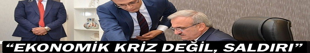 Antalya valisi: Ekonomik krizi yok