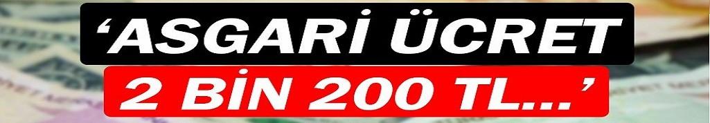 Kılıçdaroğlu: Asgari ücret 2bin 200 TL..