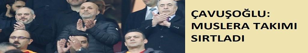 Çavuşoğlu: Muslera tek başına maçı aldı
