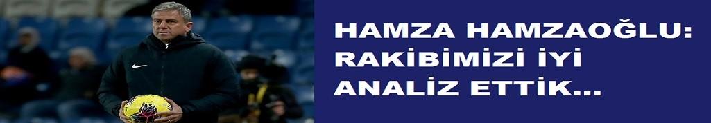 Hamzaoğlu: Önemli bir maç kazandık!