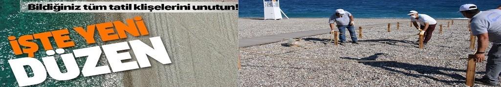 Sahil kuralları belli oluyor!