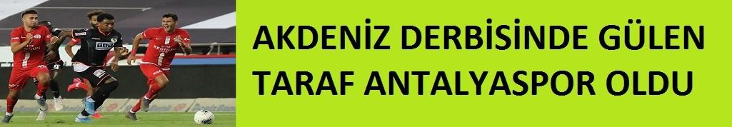 Antalyaspor 1-0 Alanyaspor .