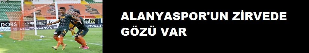 Alanyaspor'un zirvede gözü VAR!