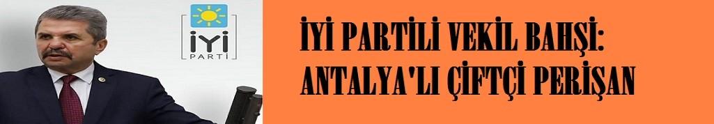 """""""Antalya'lı üreticiler zor durumda"""""""