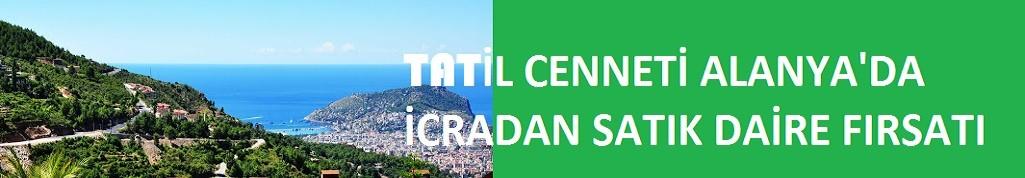 Tatil cenneti Alanya'da icradan satılık daire fırsatı! Fiyatıyla ilgi çekiyor