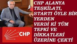 "CHP Alanya teşkilatı ""Hayır"" kampanyasının startını verdi ama!"