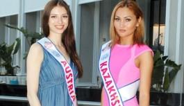 Miss Eurassia güzellleri kampa girdi