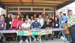 Obaköy Ortaokulu'nda Alanyaspor coşkusu