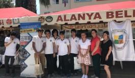 Öğrencilerle Alanya'da ve İstanbul'da buluştular