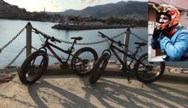 """Alanya'nın """"Bisikletli Tanıtım Elçisi"""""""