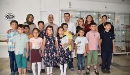 Alanya'nın Eko-Okul timi öğrencileri