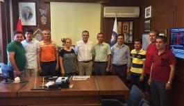 Alanyalı taksicilerden Menderes Türel'e teşekkür