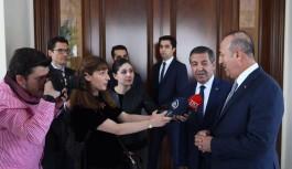 Çavuşoğlu, KKTC Dışişleri Bakanı ile görüştü