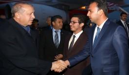 Toklu, Cumhurbaşkanı Erdoğan'ın iftar programına konuk oldu