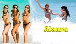 """Alanya'yı böyle tarif etti; """"Güzel tatil geçiriyorum"""