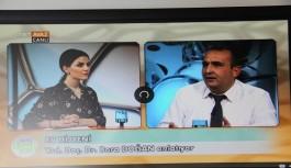 ALKÜ'lü akademisyen TRT'ye konuk oldu