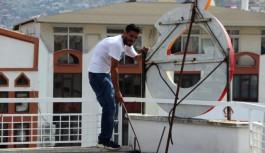 Haber Alanya gazetesinin binasında intihara kalkıştı