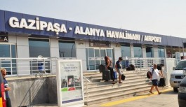 İşte Alanya Gazipaşa havalimanı yolcu sayısı!