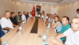 MHP'den tam kadro Başkan Yücel'e ziyaret