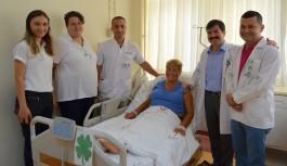 Rus hasta, tedavi için Alanya'yı tercih etti