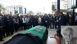 Adliye önünde törenle son yolculuğuna uğurlandı