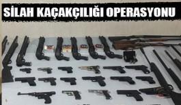 Alanya'da silah kaçakçılığı