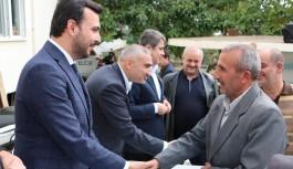 Başkan Toklu, Karakocalı halkıyla toplantıda buluştu