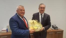 Büyükelçi, ALTSO heyetini kabul etti