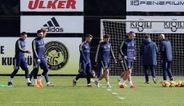 Fenerbahçe'de Alanyaspor mesaisi başladı