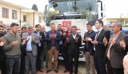 Gazipaşa'da Mehmetçiğe 26 ton sebze ve mevye